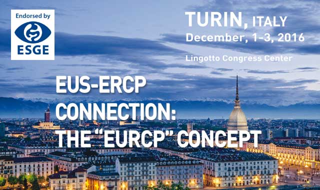 "EUS-ERCP connection: The ""EURCP"" concept, Turin 2016"